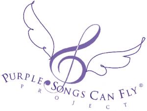 Foto LOGO PURPLE SONGS CAN FLY