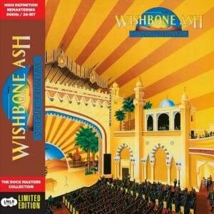 Wishbone Ash Live Dates II jacket front cover