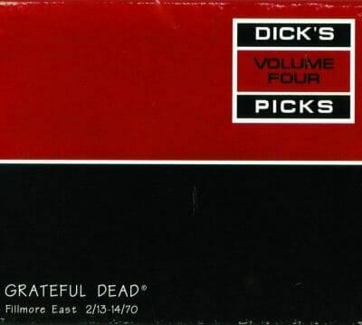 Grateful Dead Dick's Picks 4 - Fillmore East 2-13-14-70
