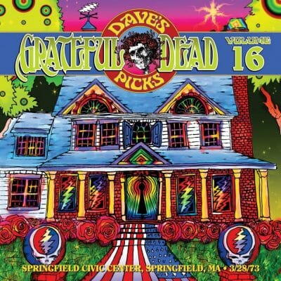 Grateful Dead Dave's Picks 16 cover