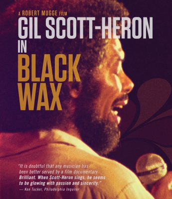 Gil Scott-Heron in Black Wax Blu-ray Disc