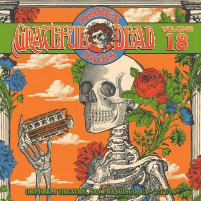 Grateful Dead Dave's Picks 18 cover