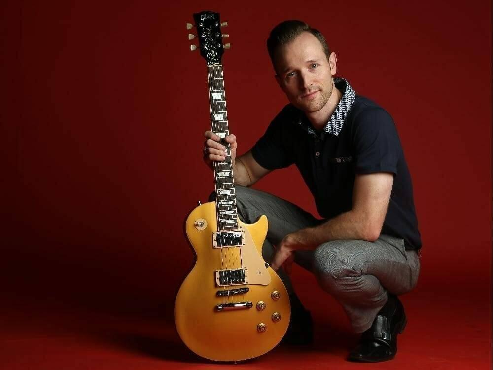 Local blues musician JW Jones. (Julie Oliver / Ottawa Citizen)